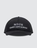 MSGM Time New Roman Cap Picture