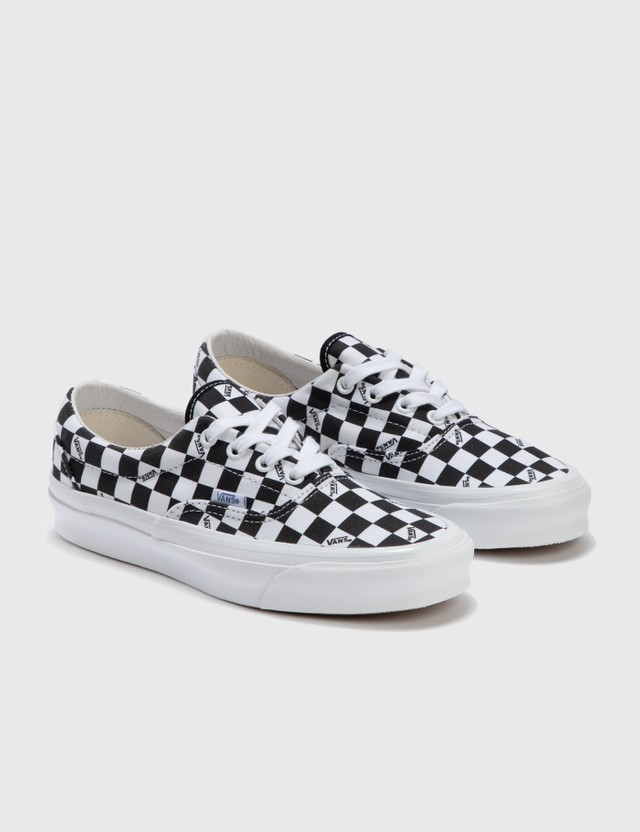 Vans OG Era LX (canvas) Checkerboard Logo/ Black Women