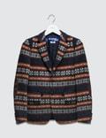 Junya Watanabe Jacquard Wool Blazer Picutre