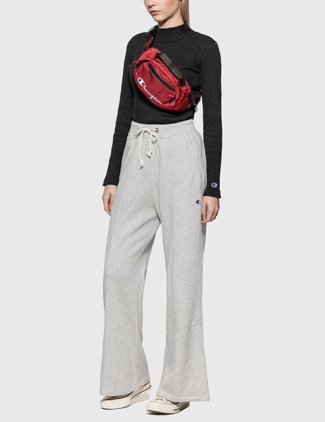 Champion Reverse Weave Belt Bag Red Women