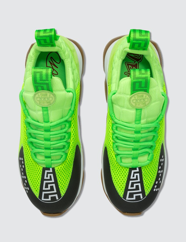 Versace Neoprene Chain Reaction Sneakers