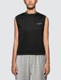 Alexander Wang.T Heavy Sleek French Terry Sleeveless Tank Picture