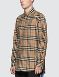 Burberry Check Cotton Poplin Shirt