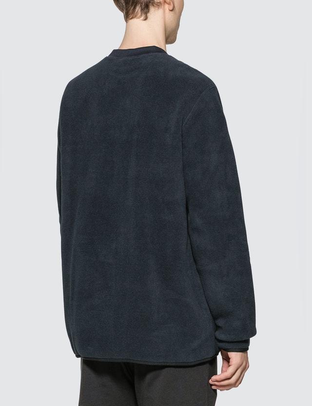 Champion Reverse Weave Sleeve Script Crewneck Fleece