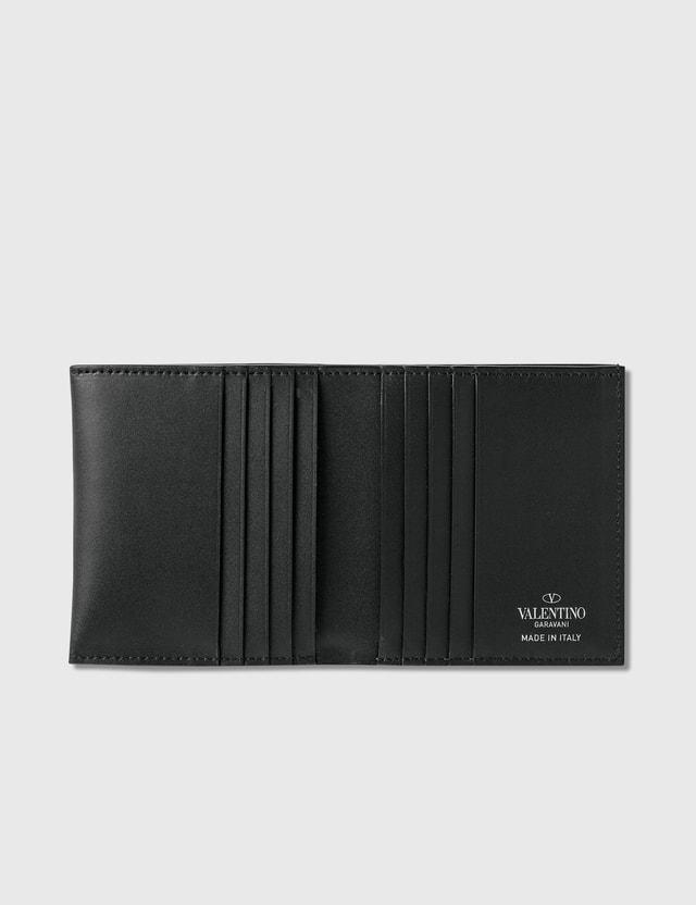 Valentino Valentino Garavani VLTN Billfold Wallet