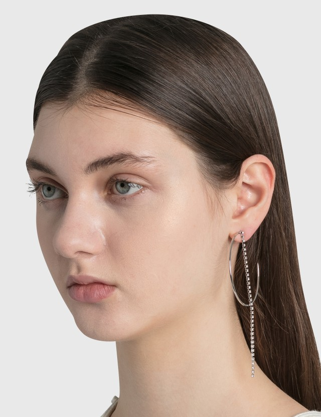 Justine Clenquet Milla Earrings Silver Women