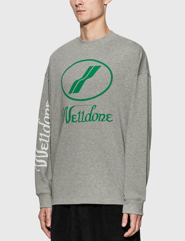 We11done We11done Logo Long Sleeve T-Shirt