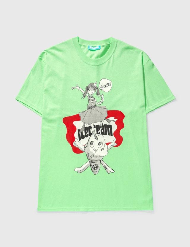 Icecream Icecream X Jun Inagawa T-shirt Lime Green Unisex