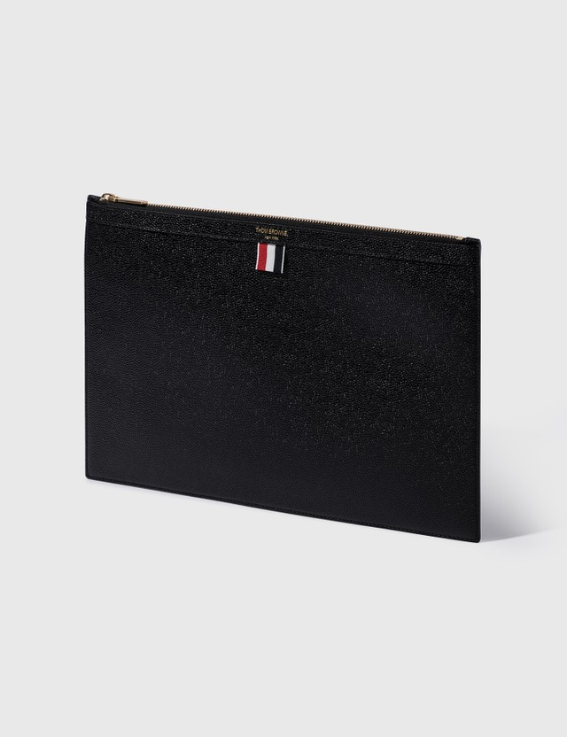 Thom Browne Medium Zipper Document Holder