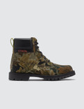 Heron Preston Camo Leaf Cleated Ankle Boots Picture