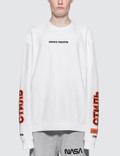 Heron Preston Satin Ctnmb Crew Sweatshirt Picture
