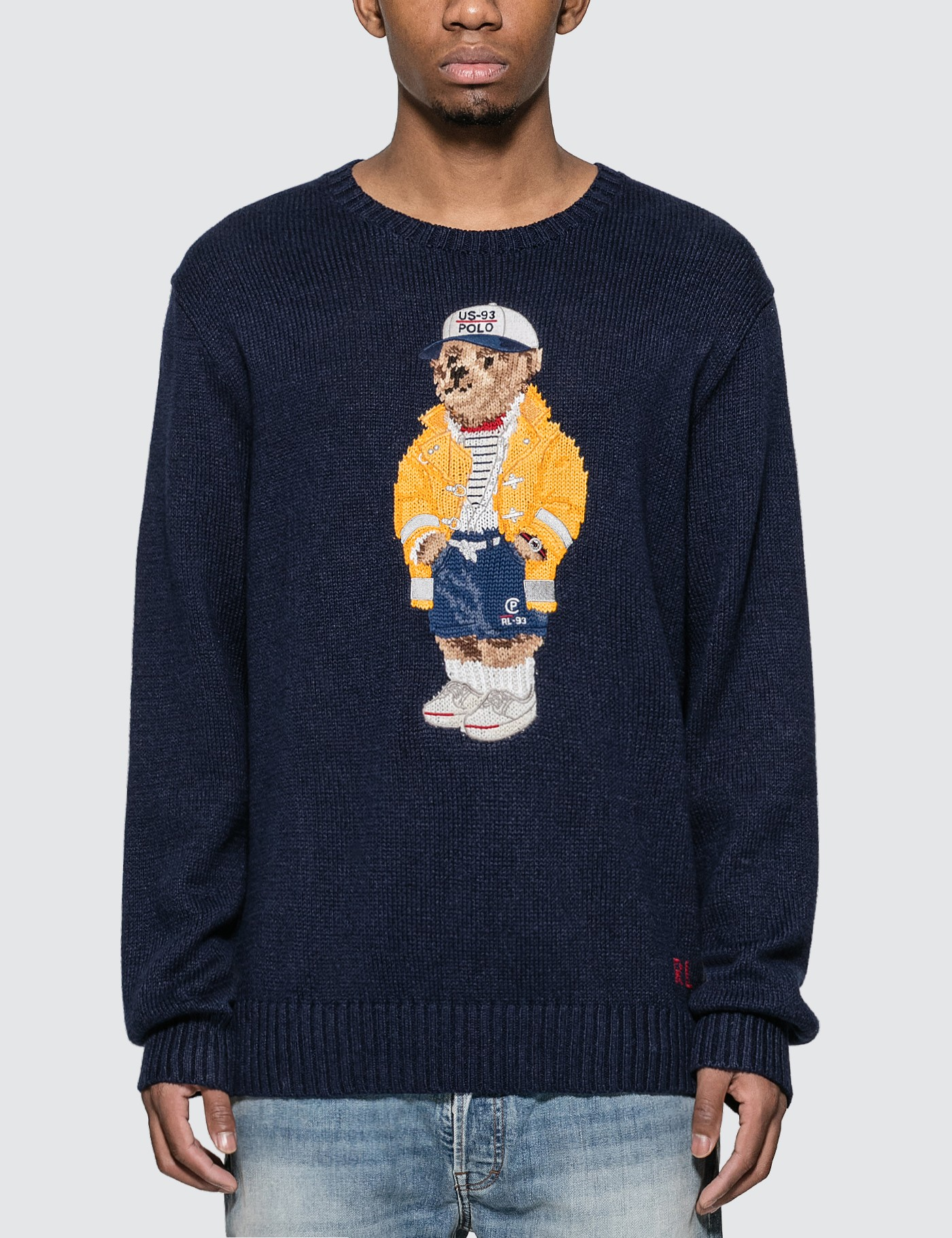 Polo Bear Jacquard Sweater