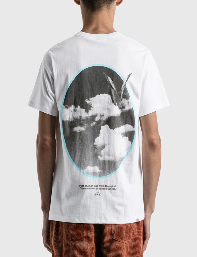 Perks and Mini Window On Ethereal Print T-shirt White Men