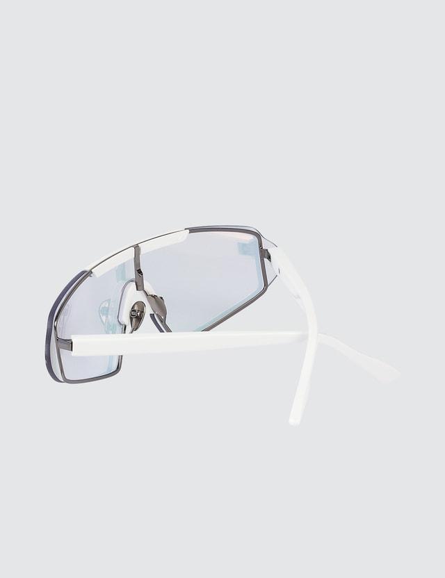 Acne Studios Pink Bornt Frameless Sunglasses