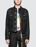 Loewe Embroidered Knot Denim Jacket Picture