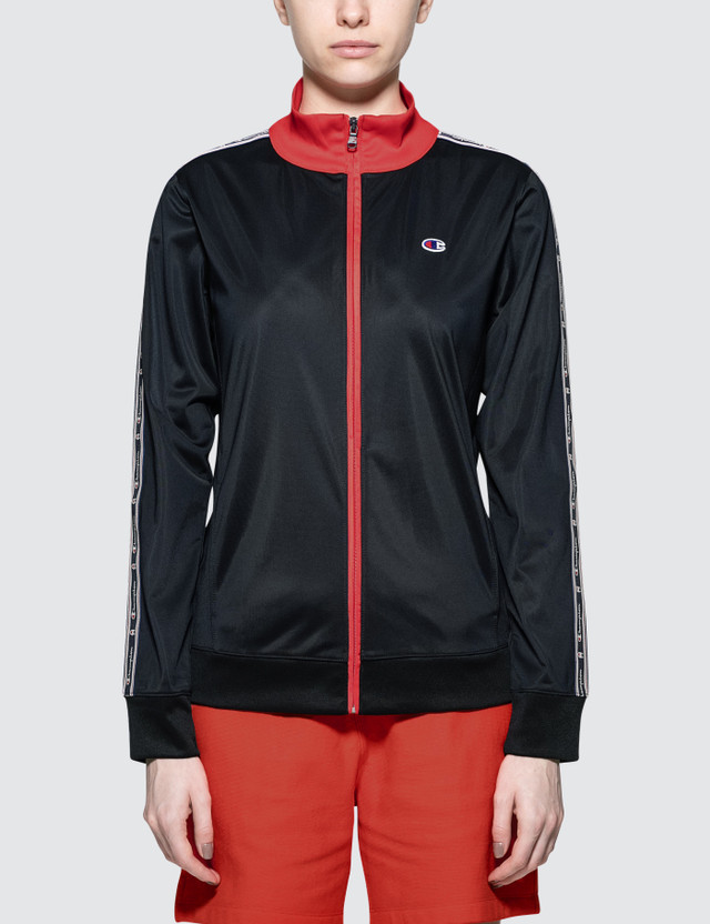 Champion Reverse Weave Zip Through Track Top