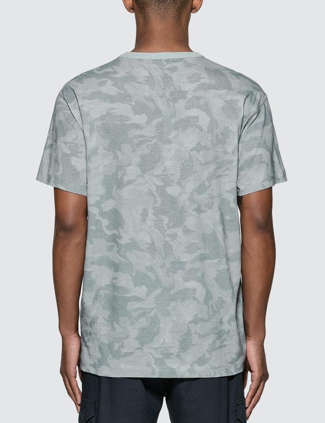 Stone Island Big Loom Camo Logo T-Shirt