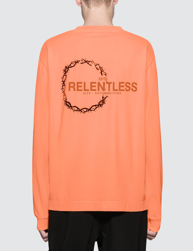 1017 ALYX 9SM Relentless Collection L/S T-Shirt