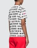 Maison Kitsune Kool Fox All-over T-shirt