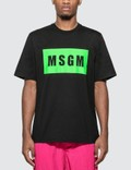 MSGM Box Logo T-shirt Picture
