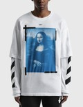 Off-White Mona Lisa Double Sleeve T-shirt Picture