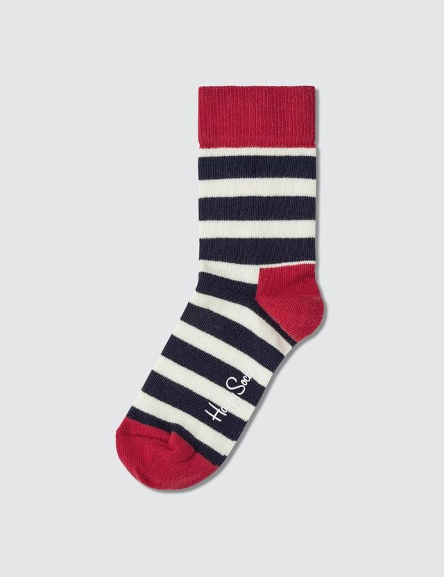 Happy Socks Kids Stripe Sock Gift Set (Pack of 2)