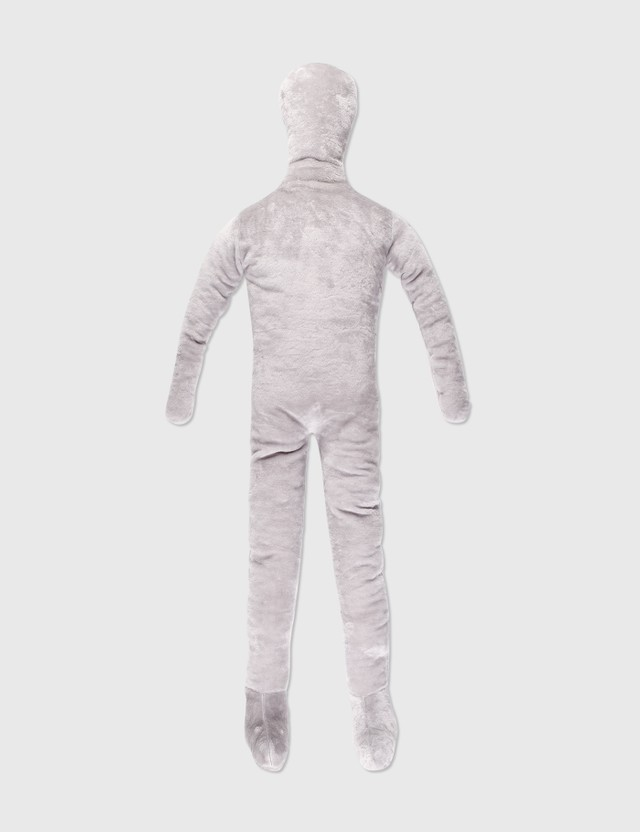 Crosby Studios Gray Faux Fur Little Man Grey Men