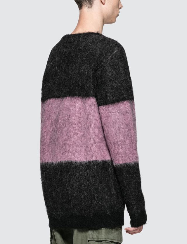 Wacko Maria Striped Mohair Sweater