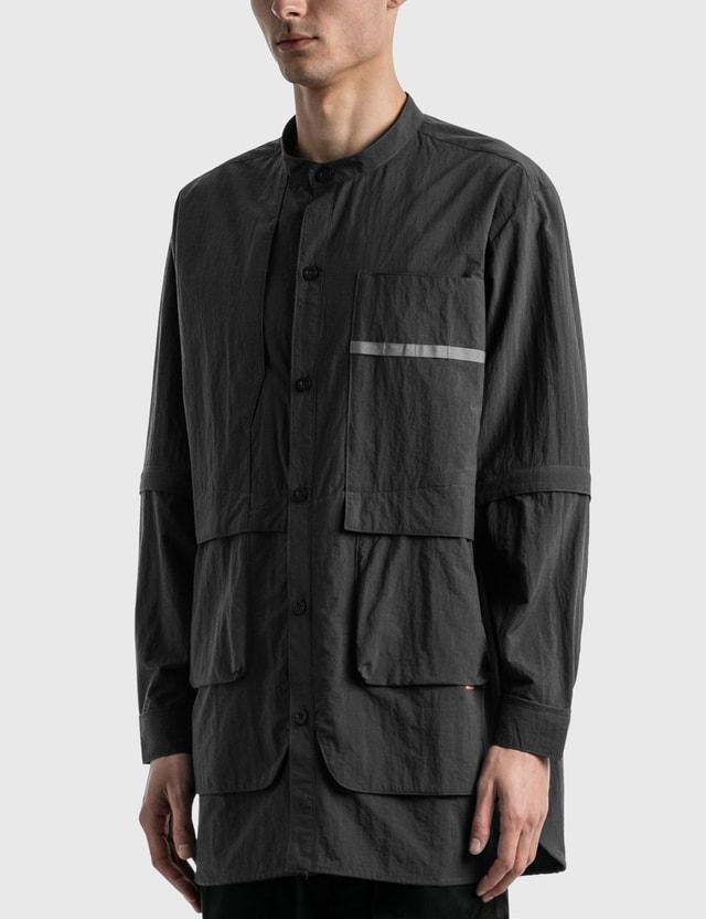 "GOOPiMADE GOOPiMADE® ""TS-03"" 2-way Functional Shirt Deep Grey Men"