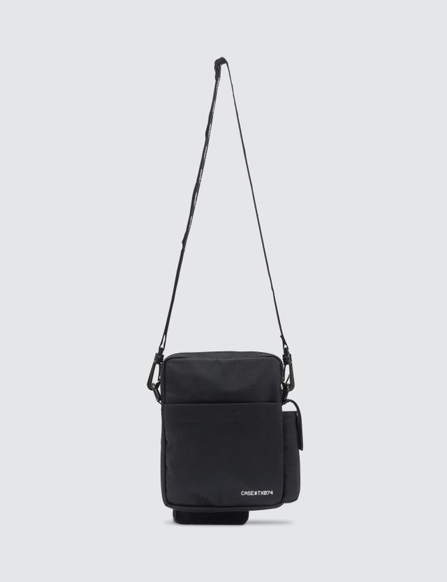 C2H4 Los Angeles C2H4 x Mastermind Japan Logo Stripe Shoulder Bag