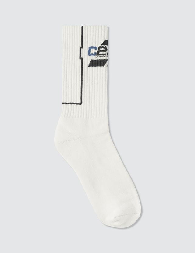 C2H4 Los Angeles Company Logo Sock