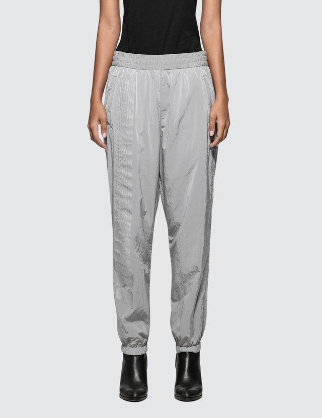 Alexander Wang.T Washed Nylon Pant With Reflective Print Detail