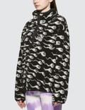 Ashley Williams Juju Sperm Print Fleece Pullover Jacket