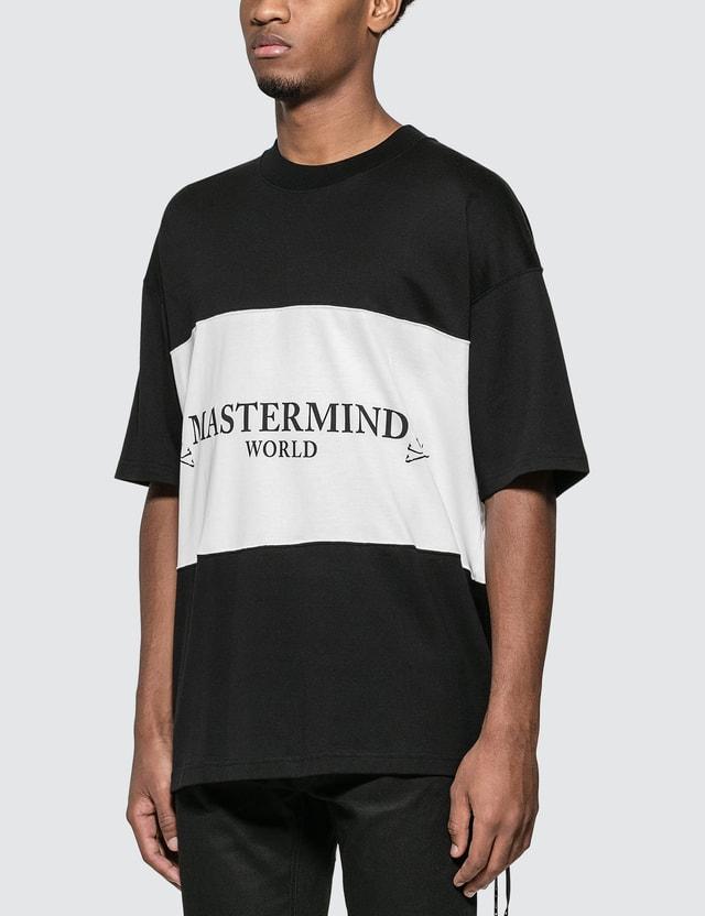 Mastermind World Panelled Logo T-Shirt