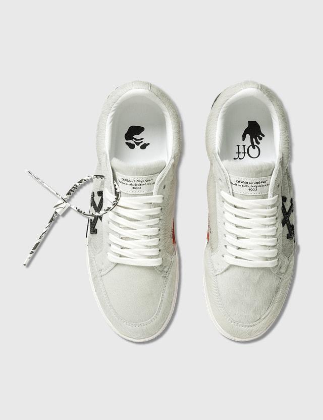 Off-White Pony Low Vulcanized Leather Sneaker =e38 Men