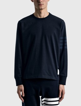 Thom Browne Long Sleeve Rugby T-shirt