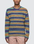 Acne Studios Nosti Seasonal Stripe Knitted Sweater Picutre