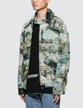 Off-White Lake Oversize Harrington All Over Jacket