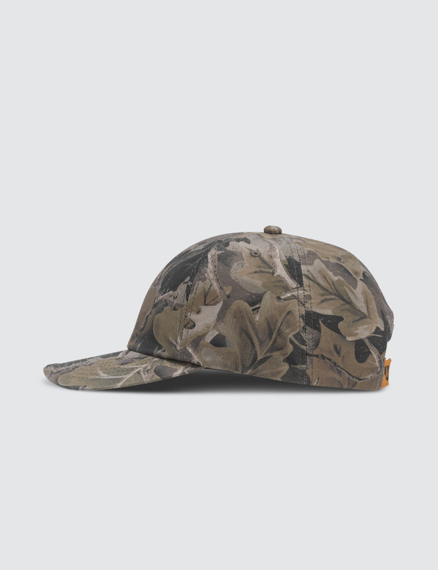 Heron Preston Camo Leaf Twill Cap