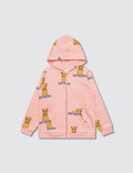 Mini Rodini Cat Campus Zip Hood Picture