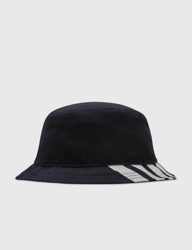 Thom Browne Classic 4-Bar Bucket Hat
