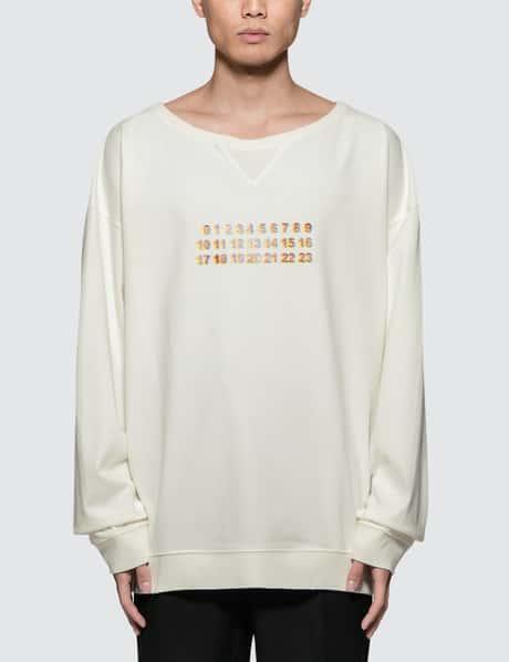 메종 마르지엘라 Maison Margiela Logo Sweatshirt