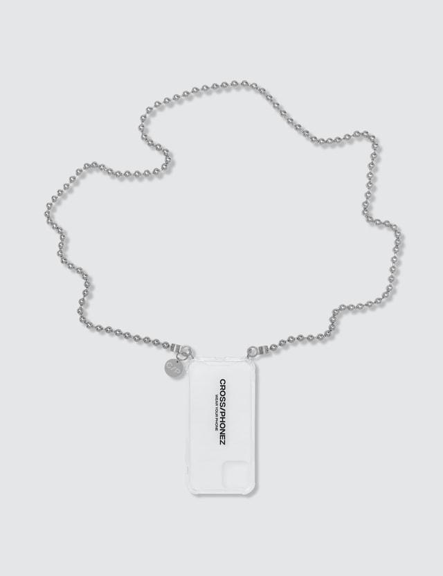 CROSS/PHONEZ Silver Ball Chain iPhone Case