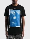 Off-White Mona Lisa Graphic Slim T-shirt 사진