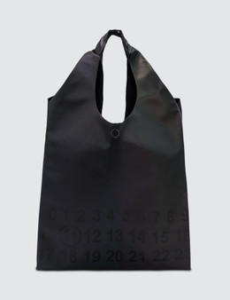 Maison Margiela Reflective Logo Tote Bag Picture
