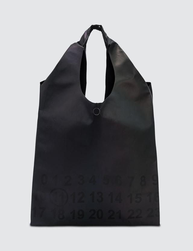 Maison Margiela Reflective Logo Tote Bag