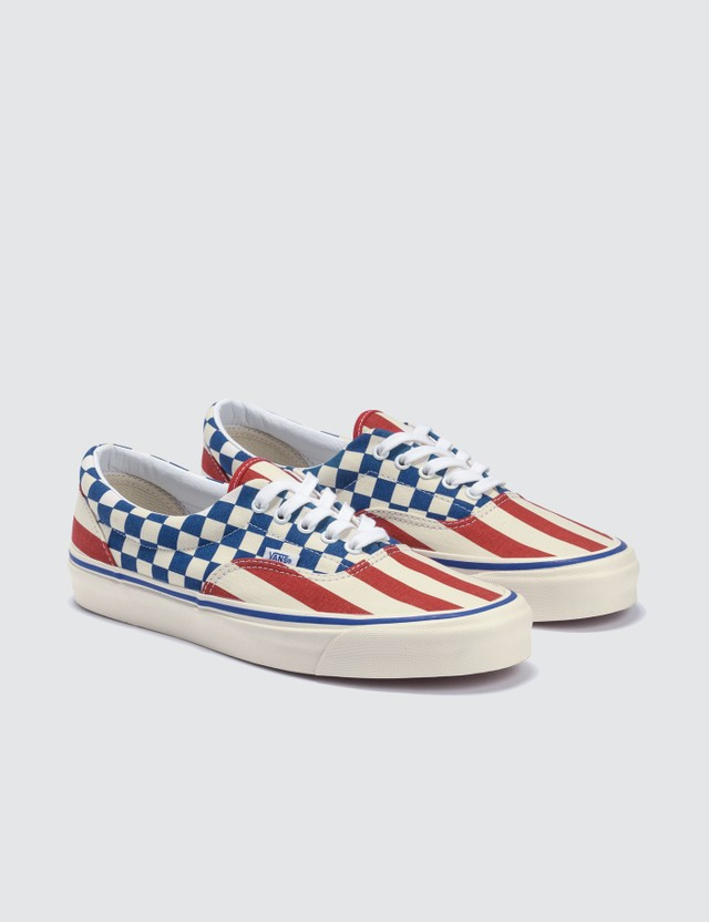 Vans Era 95 DX (anaheim Factory) Og Red Stripes/og Blue Check Men