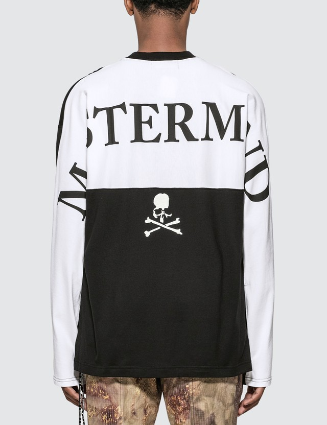 Mastermind World Back Panelled Long Sleeve T-Shirt