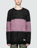 Wacko Maria Striped Mohair Sweater Picture
