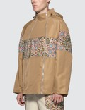 Paria Farzaneh Beige Raglan Jacket Brown Men